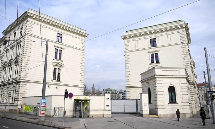 Das Bundesamt für Verfassungsschutz und Terrorismusbekämpfung in Wien-Landstraße