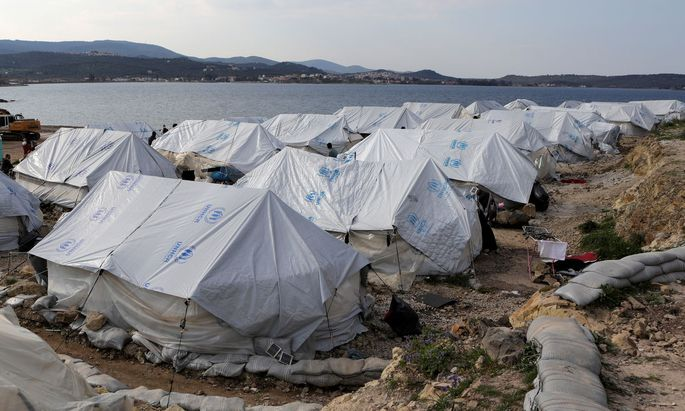 Symbolbild: Flüchtlingslager