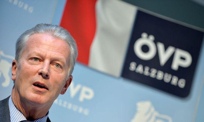 OeVP-BUNDESPARTEIVORSTAND IN SALZBURG: BK MITTERLEHNER (OeVP)