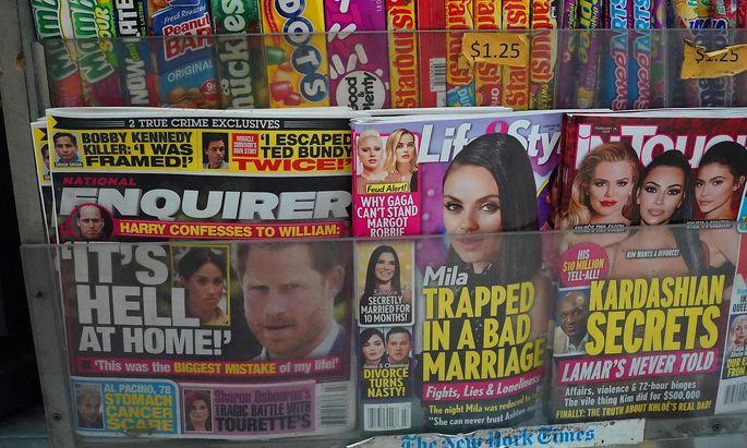 """""""The Enquirer"""" ist im Clinch mit Amazon-Chef Jeff Bezos"""