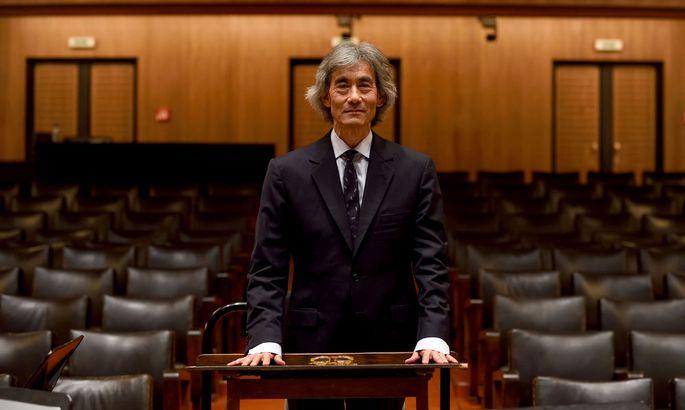 """""""Die Leute schauen dauernd auf ihre Smartphones. Dafür finden sie immer Zeit"""", wunder sich Kent Nagano."""