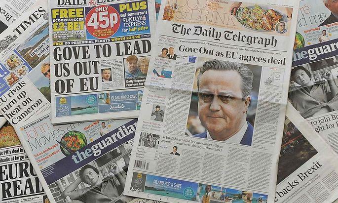 Erfolg oder nicht? Die britische Presse war sich nicht ganz einig