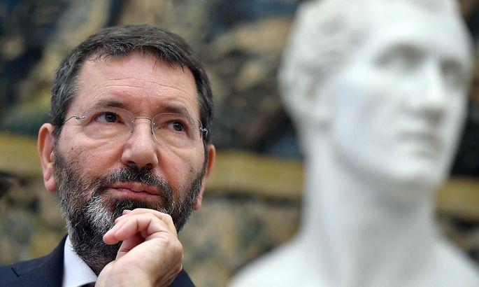 """FILE""""Ich bin über den Freispruch glücklich."""" ITALY ROME MAYOR MARINO"""