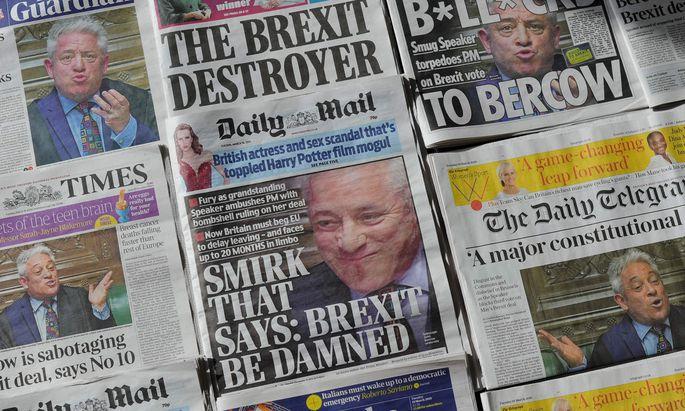 BRITAIN-EU-POLITICS-BREXIT-PRESS