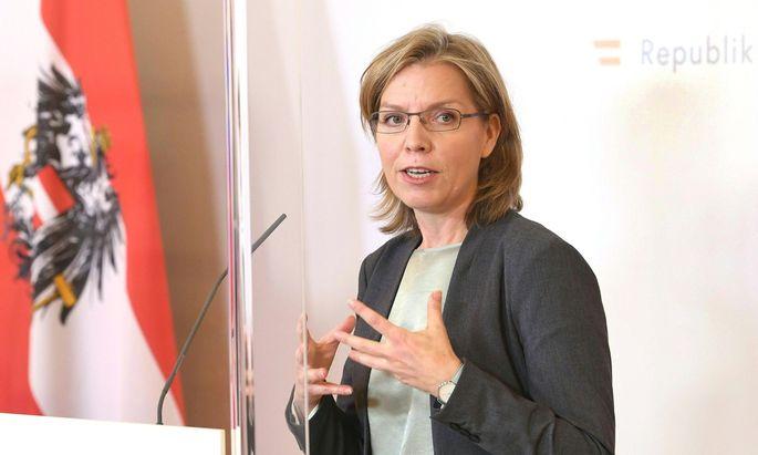 Infrastrukturministerin Leonore Gewessler (Grüne)