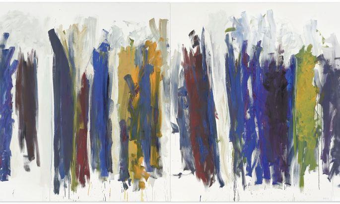 """""""Trees"""" von Joan Mitchell ist das Toplos der Christie's-Auktion, die am 2. Dezember via Livestream stattfindet. Der Schätzpreis liegt bei sechs bis acht Millionen Dollar."""