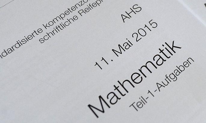 Mathematik-Zentralmatura