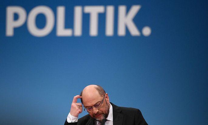 Martin Schulz verzichtet auf Ministeramt und Parteivorsitz.