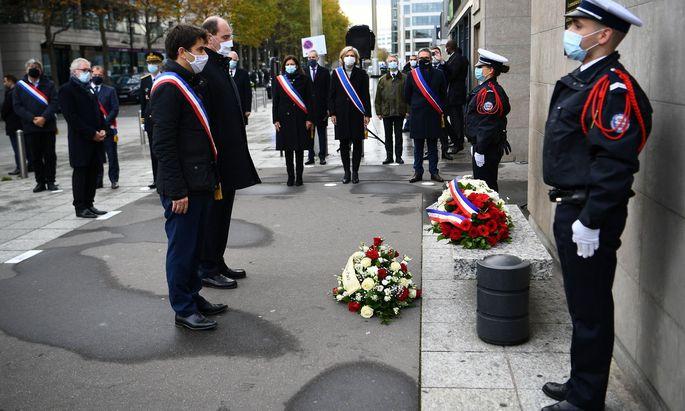 Gedenken an die Opfer der Pariser Anschläge vor 5 Jahren