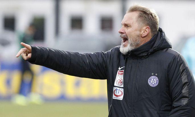 FUSSBALL: TIPICO BUNDESLIGA / RZ PELLETS WAC - FK AUSTRIA WIEN