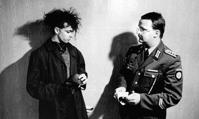 """Blick hinter die Kulissen von DDR-Institutionen: """"Volkspolizei"""", 1985."""