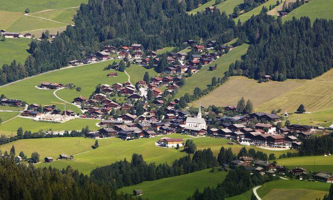 Blick auf Alpbach
