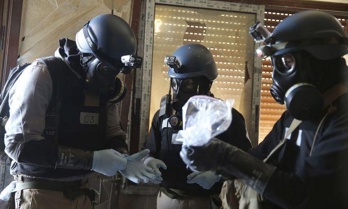 Syrien, Chemiewaffen, USA