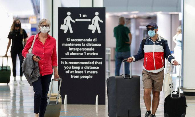 Fiumicino-Flughafen in Rom