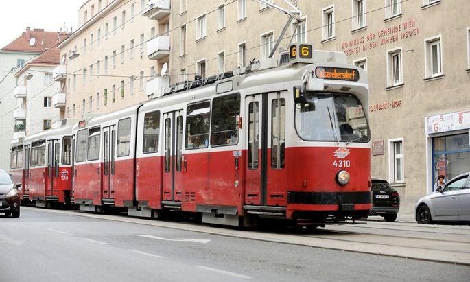Mobile Drogenszene: Die Straßenbahnlinie 6 wird für den Handel mit illegalen Substanzen verstärkt genützt.