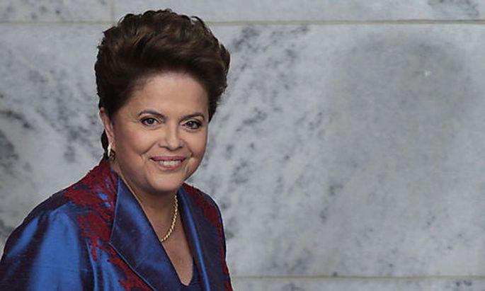 Präsidentin Dilma Rousseff wird Portugal helfen