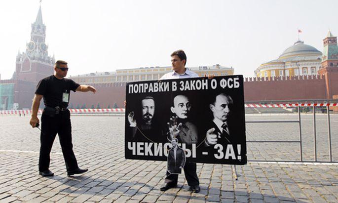 Russland Noch mehr Macht