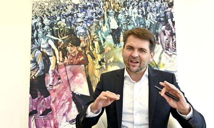 Sozialversicherungs-Dachverbandsvorsitzender Peter Lehner
