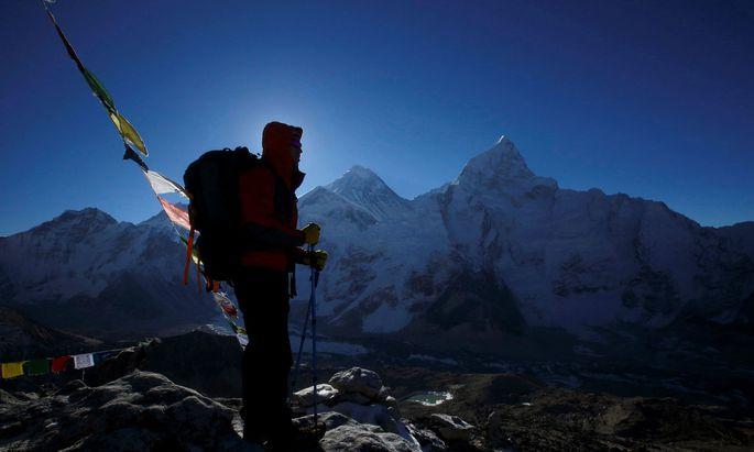 Mount Everest in Aussicht