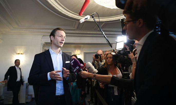 Gernot Blümel: Finanzminister und ÖVP-Wien-Spitzenkandidat.