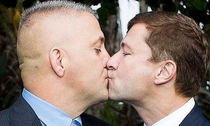 RechtsHomo-Ehe wie eine