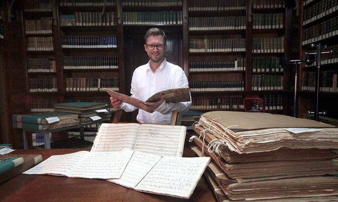 Der Musikwissenschaftler John David Wilson birgt wahre musikalische Beethoven-Schätze.