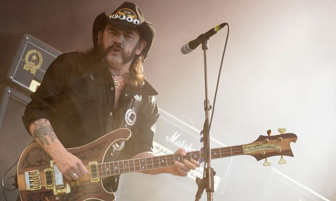 Lemmy performs during the 24th Wacken Open Air Festival
