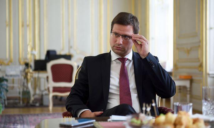 Ungarns Kanzlei-Minister, Gergely Gulyás.