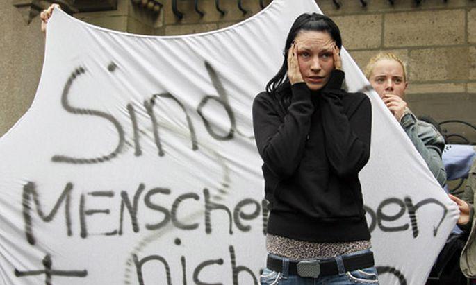 Deutschland Proteste gegen Duisburger