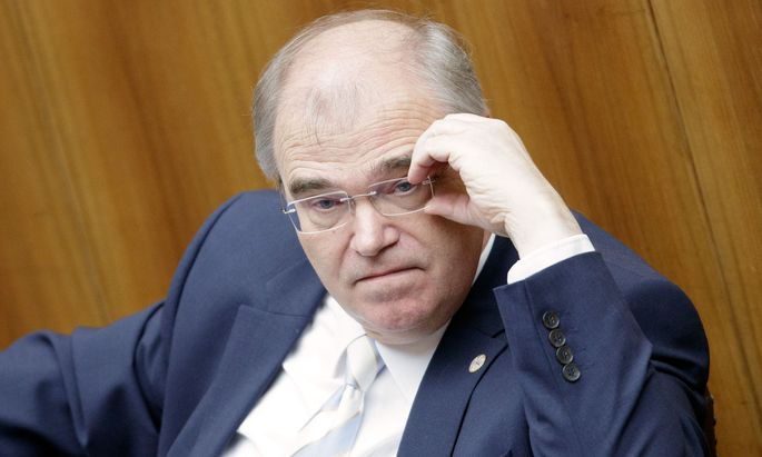 Justizminister Wolfgang Brandstetter (ÖVP)