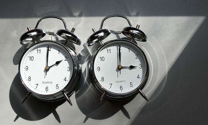 Von 2 Uhr auf 3 Uhr. Wie oft noch?