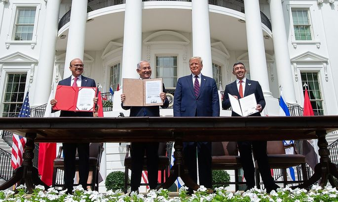 TOPSHOT-US-ISRAEL-UAE-DIPLOMACY-POLITICS
