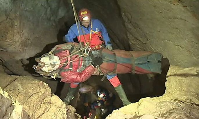GERMANY DEEPEST CAVE RESCUE