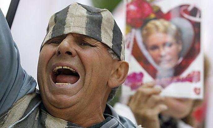 UKRAINE POLITICS JUSTICE PROTEST
