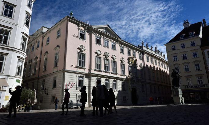 Blick auf den Verwaltungsgerichtshof