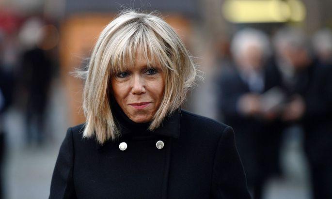 Brigitte Macron, die künftige Premiere Dame?