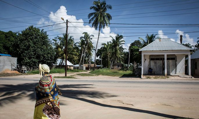 Archivbild aus der mosambiker Küstenstadt Palma.