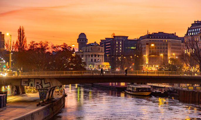 Auch die Brücken am Donaukanal sollen in den nächsten Jahren saniert werden.