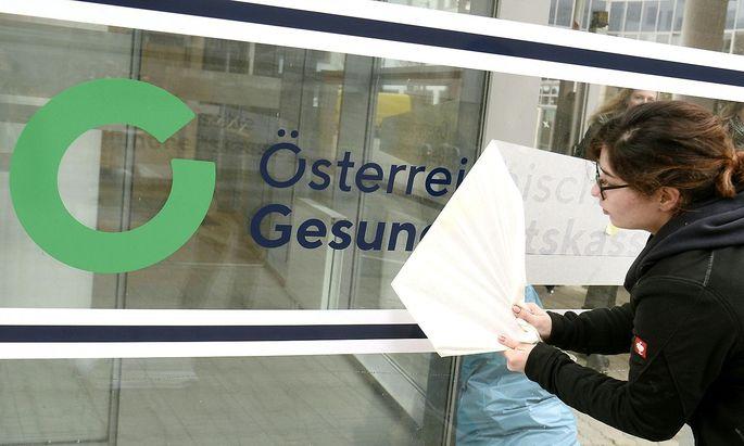 Die neu gegründete Österreichische Gesundheitskasse startet gleich einmal mit einem Defizit.