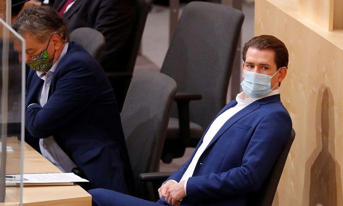 Sebastian Kurz im Nationalrat