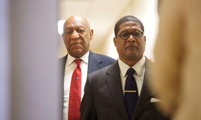 Bill Cosby wurde wegen sexueller Nötigung in drei Fällen schuldig gesprochen.