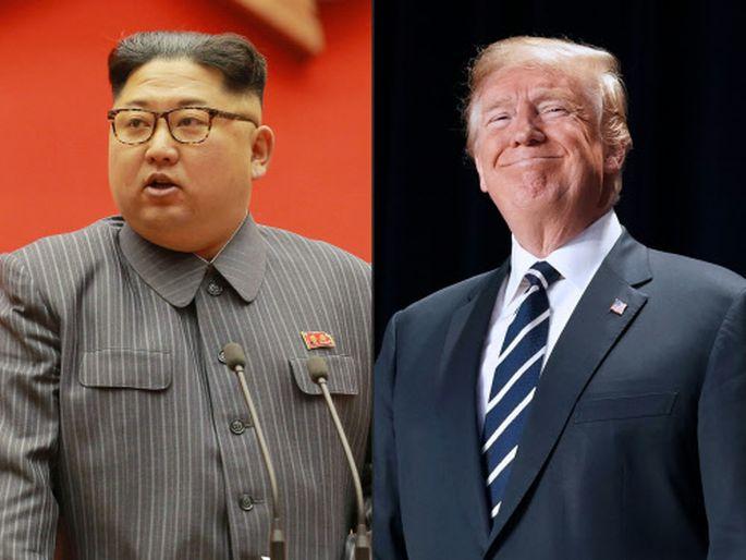Trump und Kim werden einander bis Juni treffen