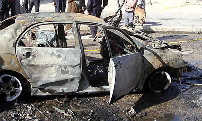 IRAQ NAJAF BOMB ATTACK