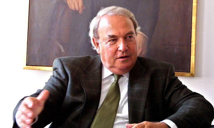 Lufthansa Großaktionär Hermann Thiele sträubt sich gegen die Staatsbeteiligung an dem Luftfahrtkonzern.