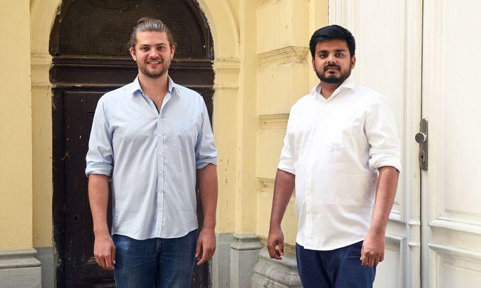 Die Theologie und Indien brachten Georg Schaberger und Anson Samuel zusammen.
