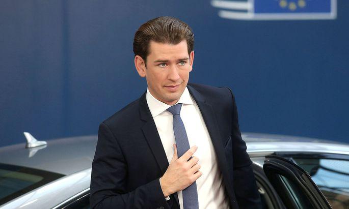 """Sebastian Kurz bleibt """"wichtig"""", meint der """"Spiegel Online""""."""