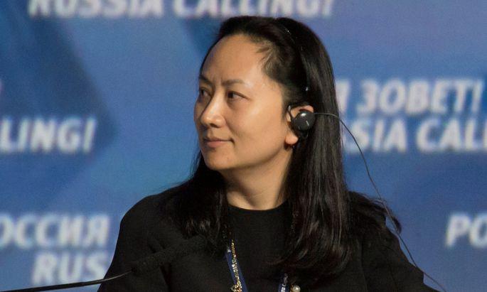 Huawei-Finanzchefin Meng Wanzhou.