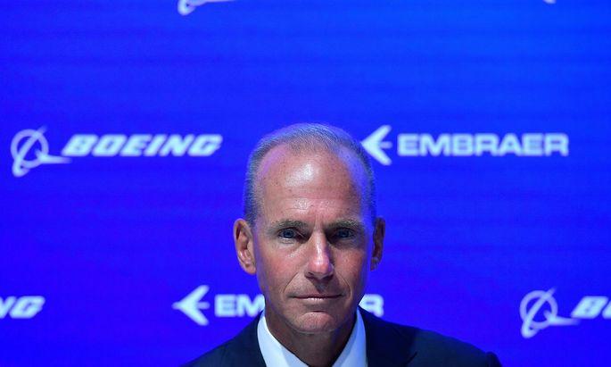 Boeing-Chef Dennis Muilenburg