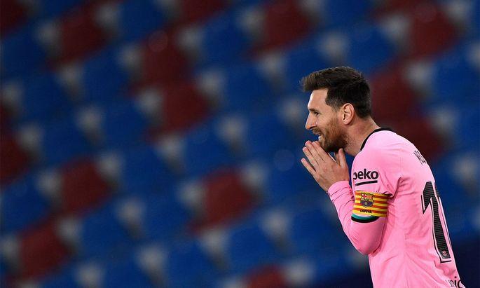 Lionel Messi und Co. ließen wichtige Punkte liegen.