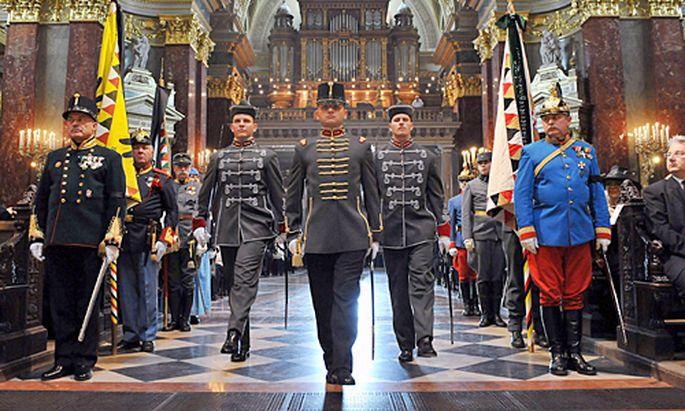 Ungarn nimmt Abschied Kaisersohn